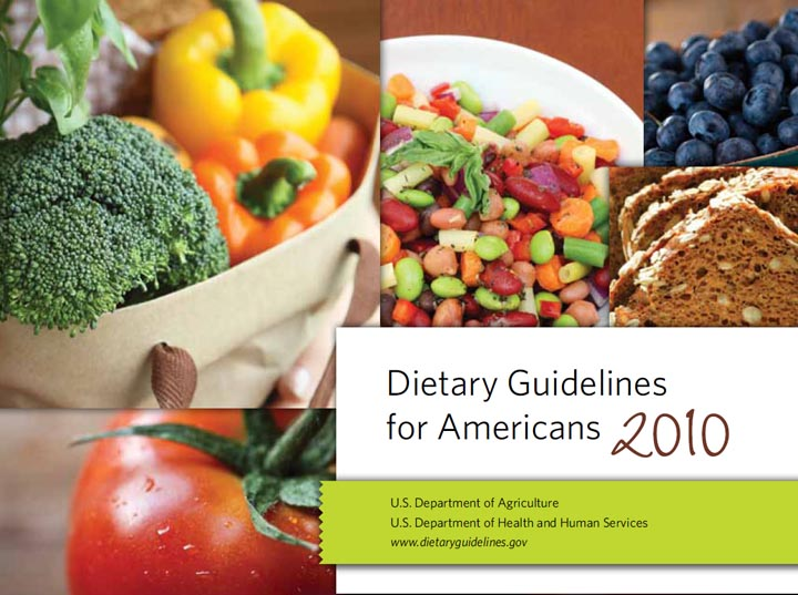 Dietary Guidelines for Americans, 2010 Cover