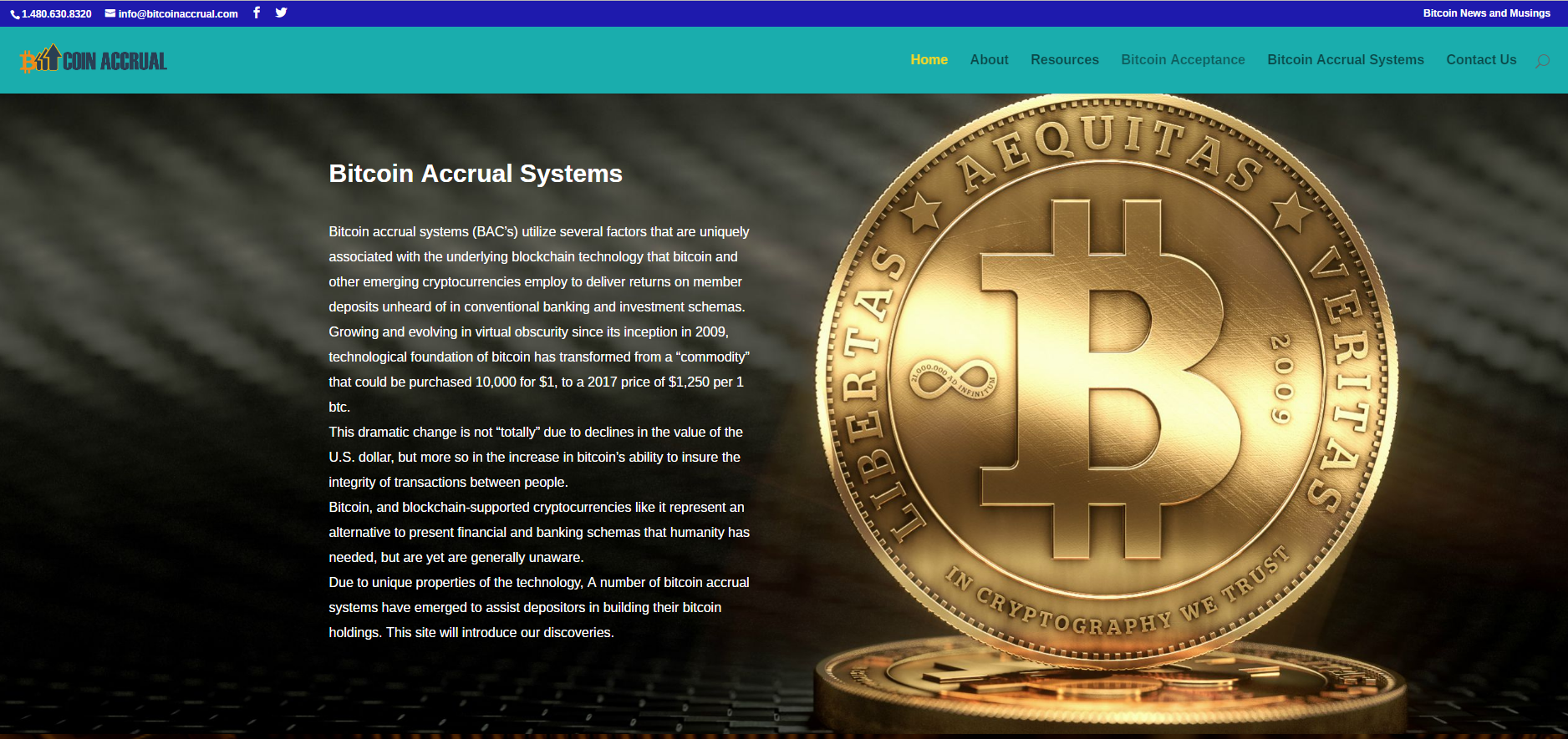 Bitcoin Accrual Systems and Strategies